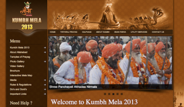 Official Website of Kumbh Mela, 2013