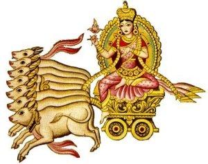 Goddess of Dawn Usha