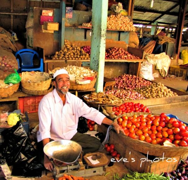 The vegetable sellers