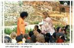Sai Baba giving darshan and taking letters in Kodaikanal
