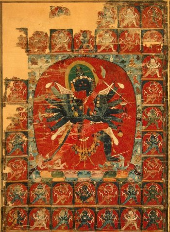 Paramasukha Cakrasamvara Yab-Yum Luipa Mandala