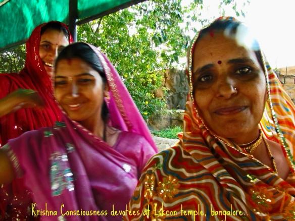 The Hari Krishna ladies, Bangalore