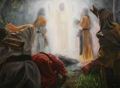 "Christ - The Transfiguration. pic. thanks to ""Teilhard de chardin"" Blog."