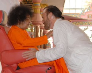Isaac with Swami -2009