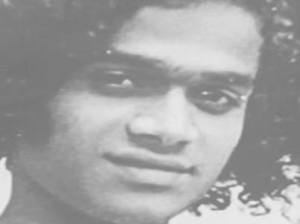 Sai Baba as a young man -