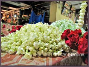 India - the market in bangalore