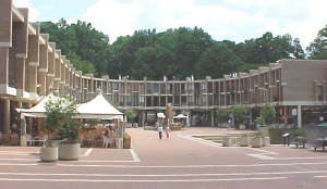 T he J. Plaza, Reston where we lived for sometime.